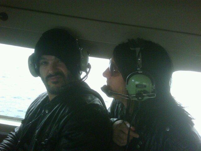 On a Seaplane