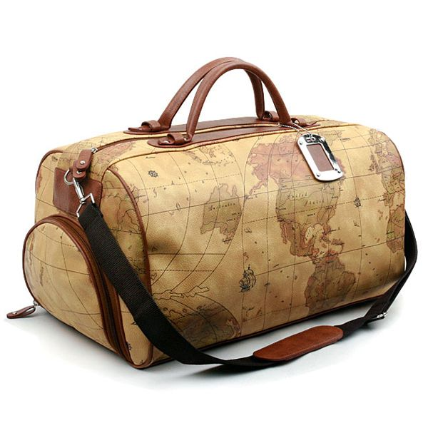 16 best stylish luggage images on pinterest world maps blue and map bags world map luggage duffle bags for men colatree crownj b gumiabroncs Choice Image