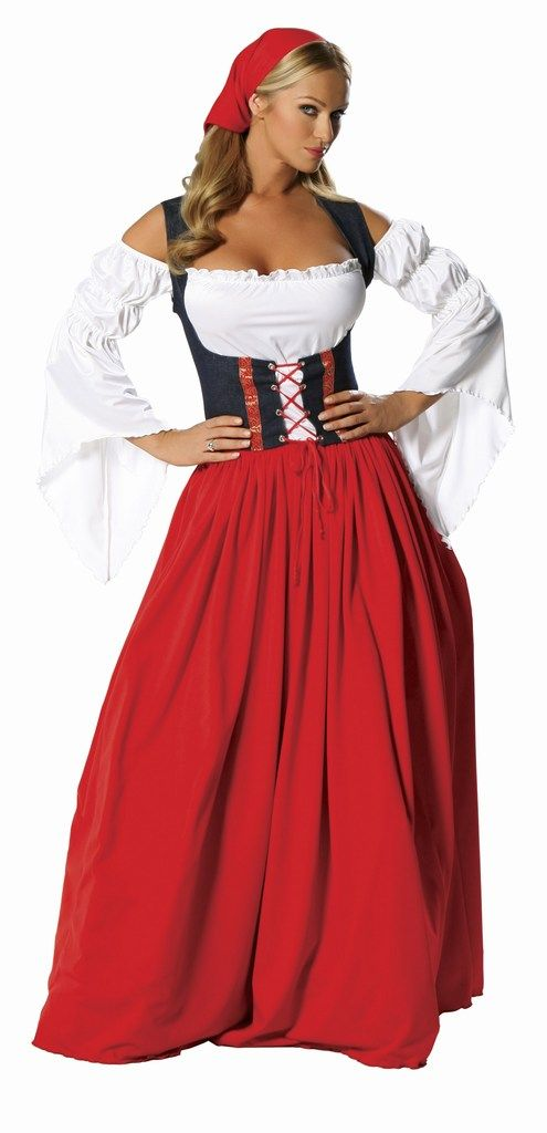 Swiss Miss Bavarian Oktoberfest costume - Beer Server - German Girl