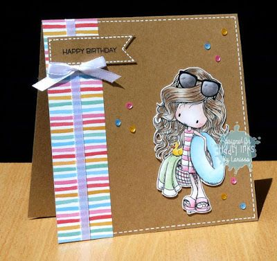Car-D-elicious: Tiddly Inks challenge 187 - Summer sun!
