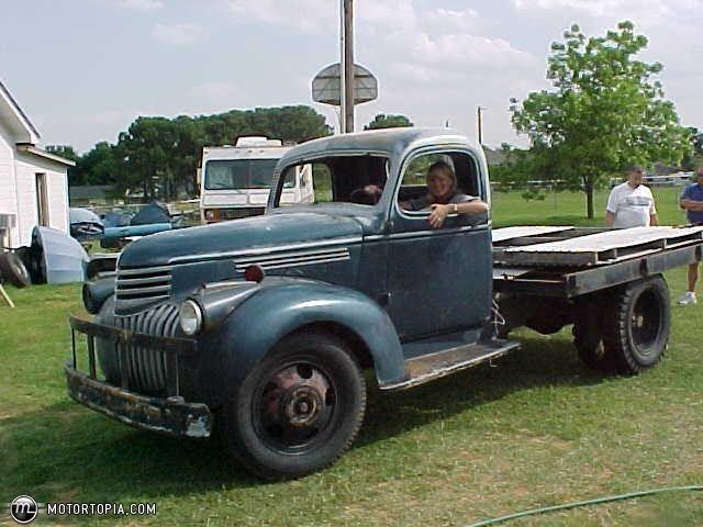 Chevrolet 1 Ton Truck Photo Of A 1941 Chevrolet 1 Ton