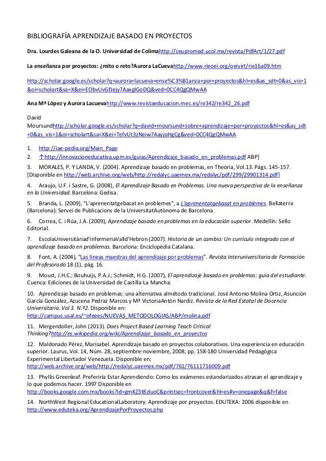 Mejores 21 imágenes de ABP en Pinterest | Aprendizaje basado en ...