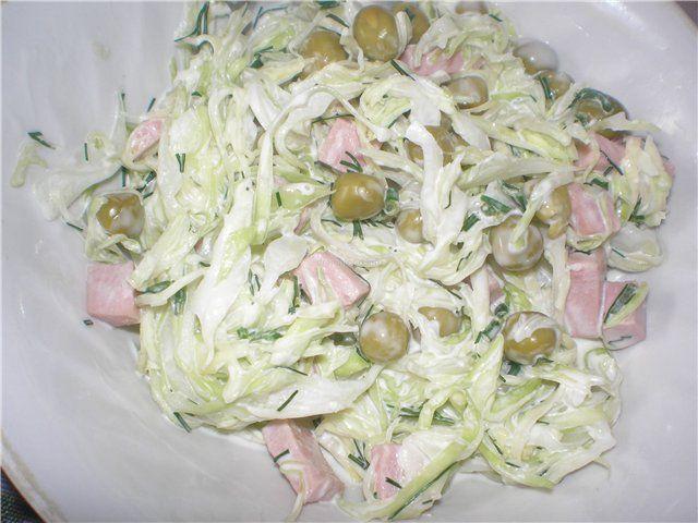 Салат из капусты с морковью ведь