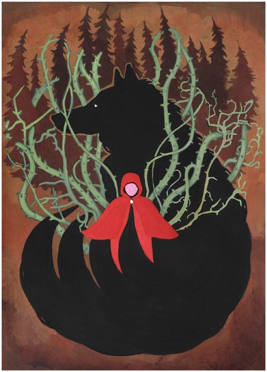 Little Red Riding Hood by ~yanadhyana on deviantART