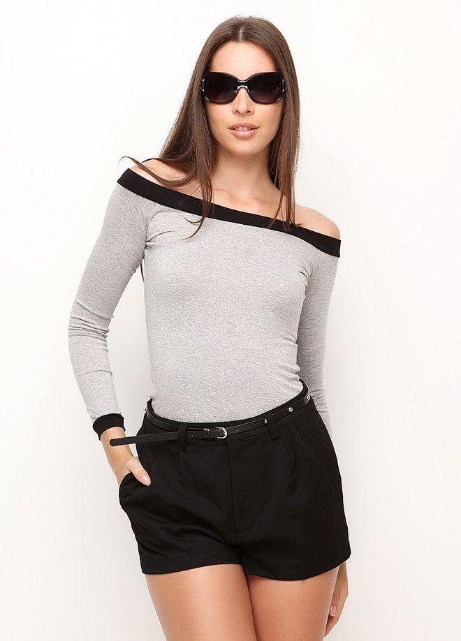 cool Kayık yaka bluz Markafoni'de 100,00 TL yerine 29,99 TL! Satın almak için: http://www.markafoni.com/product/4728632/ #markafoni #fashion #instafashion #style #stylish #look #photoshoot #design #designer #bestoftheday #black #girl #model #beautiful #dress