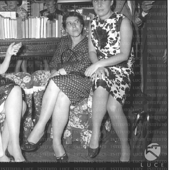 Votazioni preliminari al Premio Strega 1963.  Natalia Ginzburg