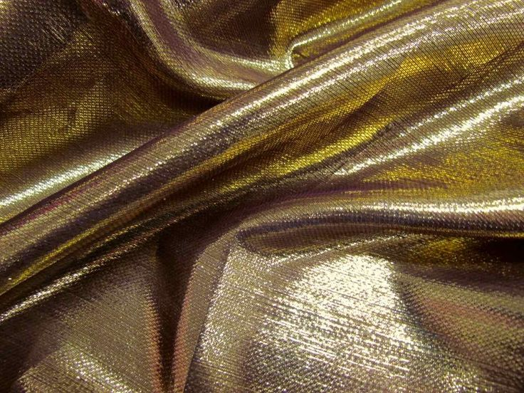 this lovely purple silk fabric is shot with metallic gold lurex threads au2026