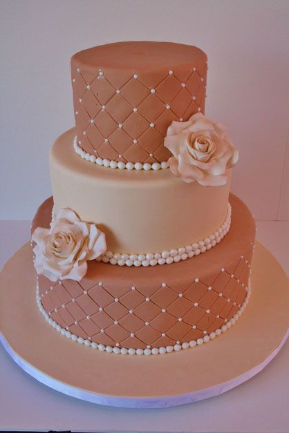 Wedding Cake, different colors of course. Like the two ...