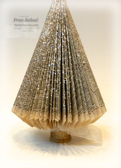 stampersblog: Christmas Book Tree