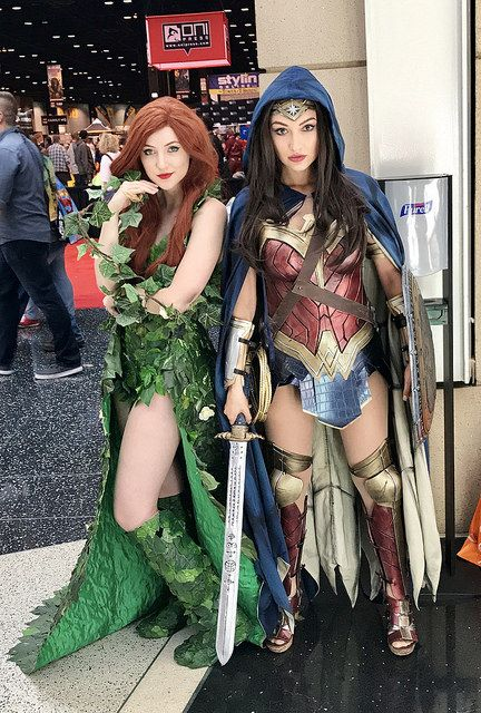 #C2E2 2017 | Poison Ivy and Wonder Woman | KitKat_71 | Flickr