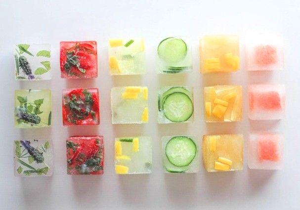 Resultado de imagem para Gelo com frutas (Foto: Reprodução)