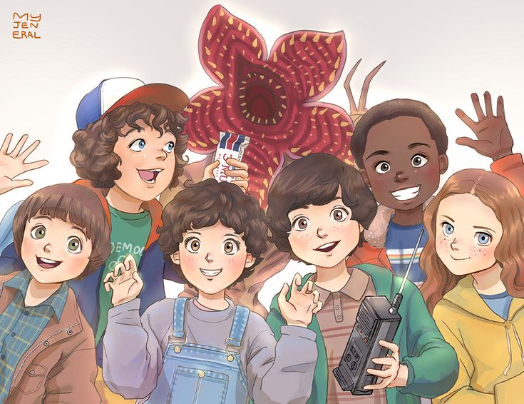 Stranger Things : Photobomb by Janenonself.deviantart.com on @DeviantArt