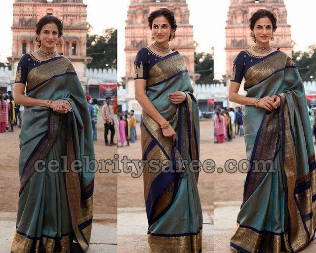 039c567e6f34ba Designer Shilpa Reddy s Traditional Look