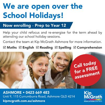 Don't fall behind in the school holidays. Keep on track with our specialised programs.