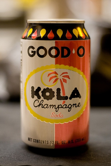 """Kola Champagne"" our puerto rican version of Coca-Cola. I used to love drinking this!"