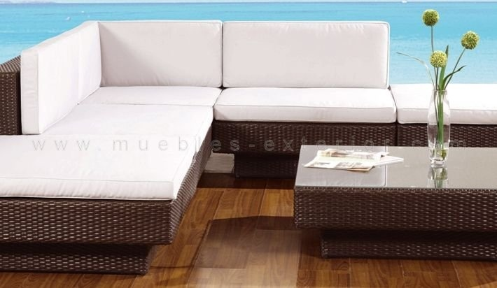 28 best muebles de jard n y exterior images on pinterest - Muebles exterior rattan ...
