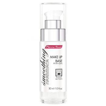 Silikonowa baza wygładzająca chroni i rozjaśnia skórę. Zawiera składniki anti - ageing, pomagające utrzymać skórze odpowiednią wilgotność.