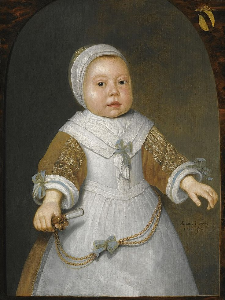 Aelbert Cuyp - Portrait of a one-year-old Girl of the Van der Burch family, 1650-60 - Sotheby's 2011