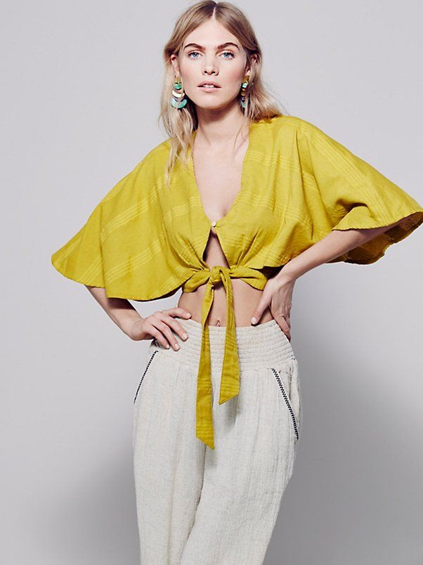 The Livin Is Easy Cape at Free People Clothing Boutique
