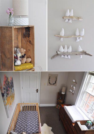 Bird Branch Mobile - Nursery Ideas and DIY