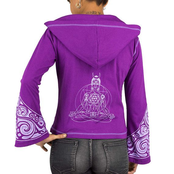 BOUDDHA veste zippée femme, sweat léger imprimé tribaux, Bouddha, vêtements de yoga, trance, motifs psychédéliques, tribal Maori, violet, Fait main Matériaux : Coton, veste sweat zippée, imprimés tribaux, Bouddha, tatouage Maori, Poches, capuche, violet / BUDDHA zip woman jacket, lightweight sweatshirt tribal print, Buddha, yoga wear, trance, psychedelic patterns, tribal Maori, purple, Handmade Materials: Cotton, hooded zip jacket, tribal prints, Buddha, Maori tattoo, pockets, hood, purple