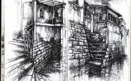 Artist Sketch Books   Sketchbook Gallery » Ian Murphy Artist