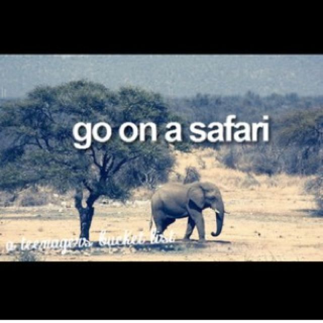 stop this would make my life. TAKE ME TO AFRICA>