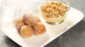 MAsterchef NZ JAzz Apple Crumble recipe