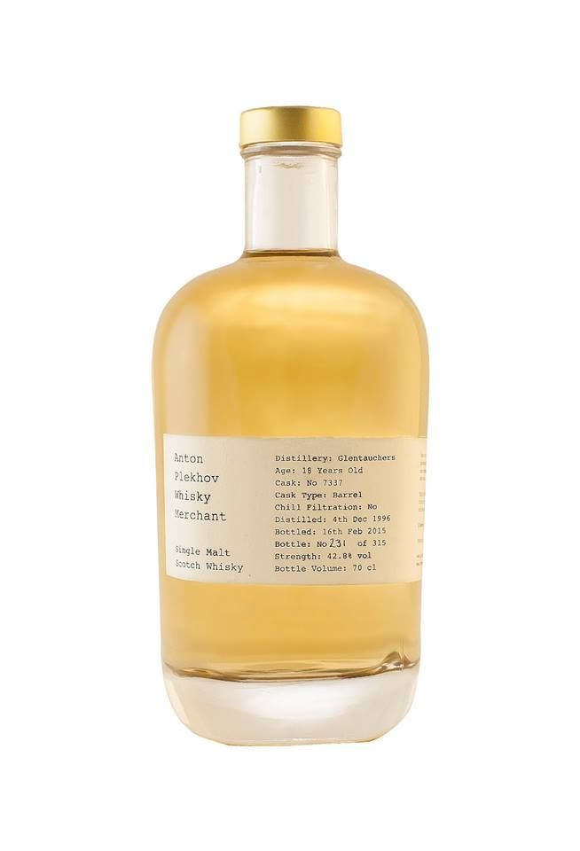 Glentauchers 18 yo 1996/2015, Anton Plekhov Whisky Merchant, 42,8% — Вино и покрепче
