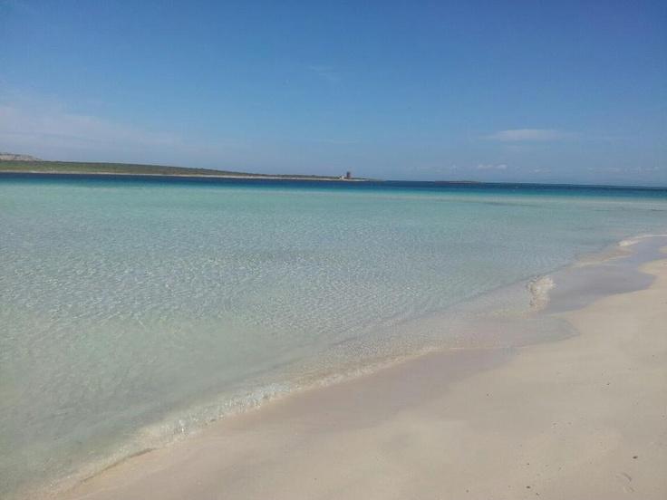 La calma della spiaggia