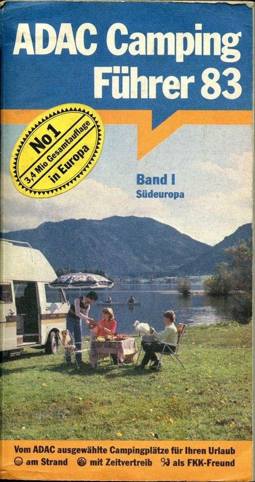 ADAC Campingführer '83