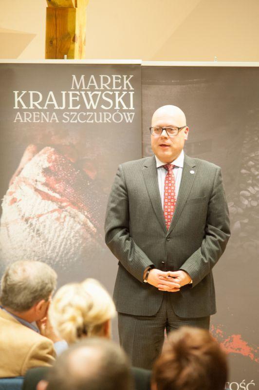 Spotkanie autorskie z Markiem Krajewskim - Galerie zdjęć - Ustka - Oficjalna strona miasta