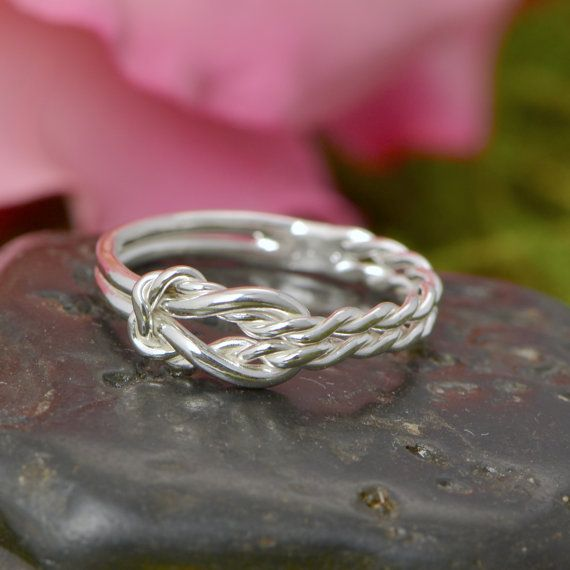 Wedding Sale Infinity Knot Ring Thumb by TheJewelryGirlsPlace