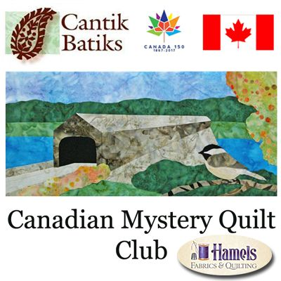 Canadian Mystery Quilt Club