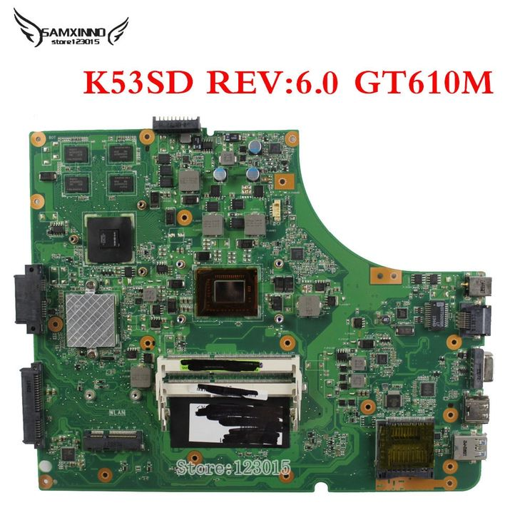 75.00$  Watch here - http://ali6tq.shopchina.info/1/go.php?t=32538389942 - For Asus K53E K53SD HM65-chipset Motherboard Intel i3-2350M On board GT 610M 2G REV 6.0 Tested well and free shipping  #buyonlinewebsite