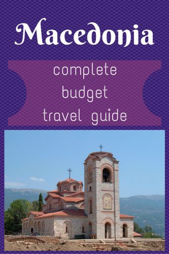 #Macedonia - complete budget #travel guide