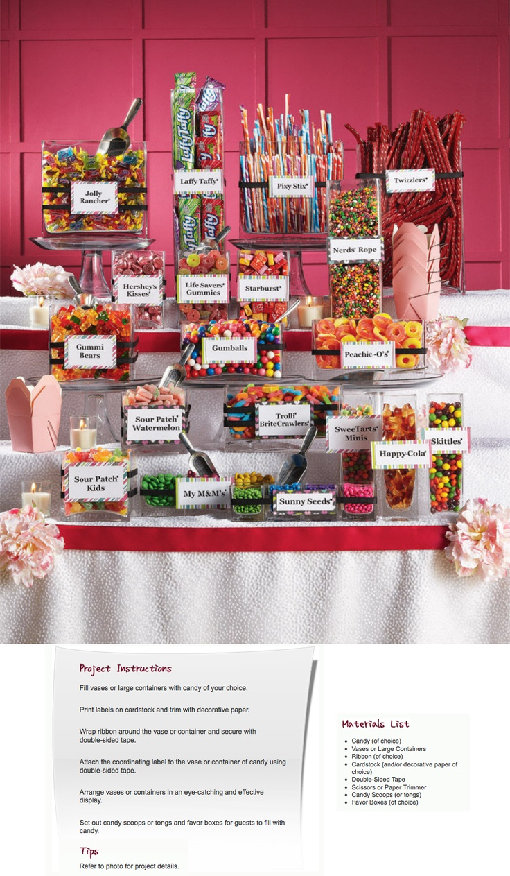 118 best candy bar tables images on pinterest candy colors jenny wants a candy barwhat is this reviewsmspy