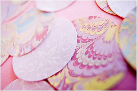 Gorgeous purple, pink ,lavender & touch of yellow summer wedding color palette