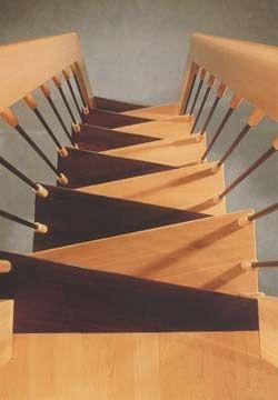 Escaleras Caracol - Espacios reducidos modelo Aragón