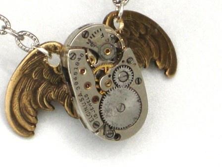 Steam Punk Owl Necklace....LOVELOVELOVELOVELOVEDOWANTLOVES