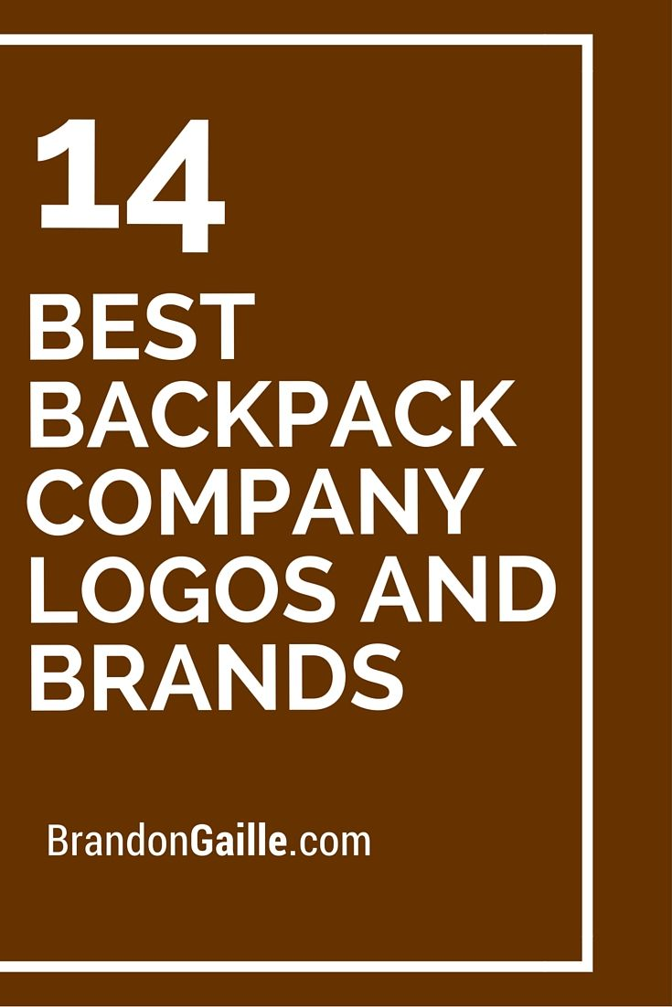 14 Best Backpack Company Logos and Brands