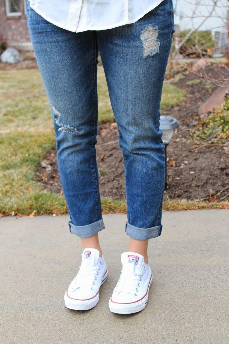 converse en jean