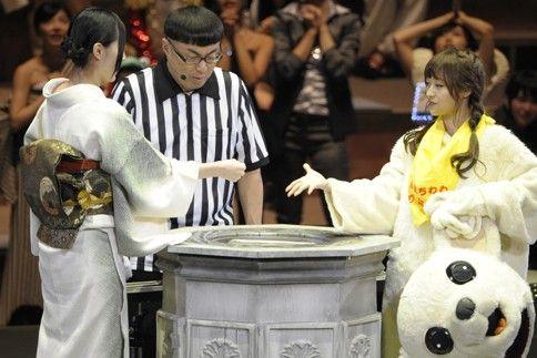 [Gブロック3回戦]SKE48/NMB48の松井珠理奈とNMB48/AKB48の小谷里歩 ▼17Sep2014オリコン|第5回じゃんけん大会画像ギャラリー http://www.oricon.co.jp/music/special/page/1447/ #SKE48 #Jurina_Matsui #NMB48 #Riho_Kotani