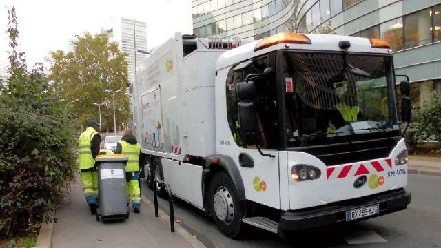 Paris a ses premiers camions-poubelles électriques ! | le blog auto