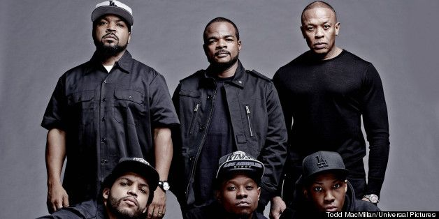 1st photo from 'Straight Out Of Compton' I'm pretty excited about this biopic