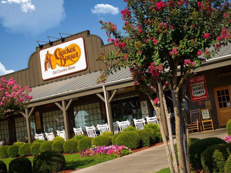Cracker Barrel is a wonderful home-style restaurant serving hearty down-home country meals at reasonable prices.