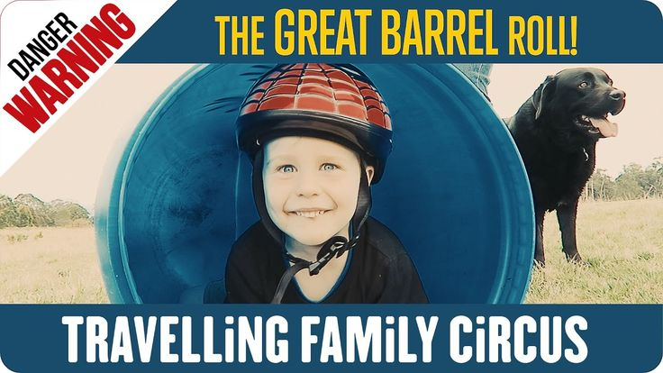What started out as a fun roll down a hill finds its way onto the list of new family traditions; Introducing THE GREAT BARREL ROLL! Thanks to Saxon a.k.a Noogie, he's going to tackle the BIG HILL. Mummy Circus may not have been as 'completely convinced', but hey, when four boys have a mission, you have to film it! #stuntkid #crazykid #bravestkidever