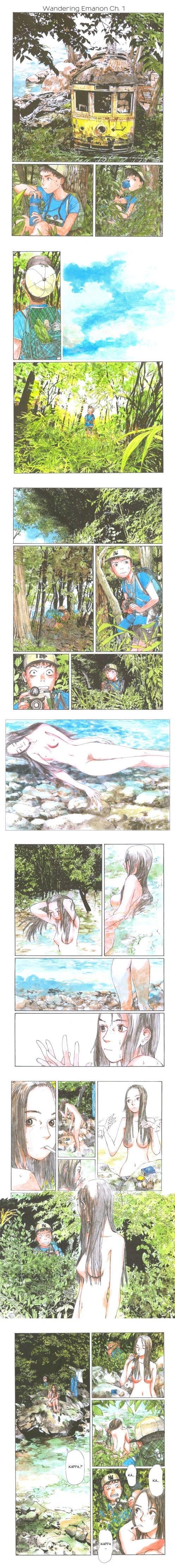 """""""Sasurai Emanon"""" Written by Shinji Kajio Art by Kenji Tsuruta"""