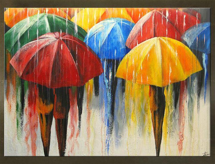 25 beste idee n over paraplu schilderij op pinterest for Schilderij buiten intratuin
