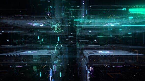 Extra Byte Video Video Technology Wallpaper Tech Design Motion Design Animation Digital transformation wallpaper hd